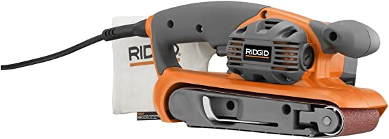 Ridgid ZRR2740 6.5 Amp 3-in X 18-in Heavy Duty Variable Speed Belt Sander (Renewed)
