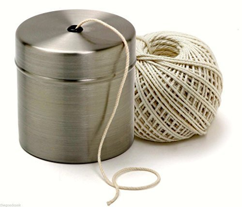 Chef Butcher Cook Kitchen Natural Cotton Twine String Stainless Dispenser Norpro ()