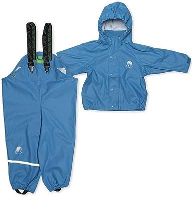 CeLaVi Boys Zweiteiliger Regenanzug in Vielen Farben Waterproof Jacket