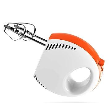Batidora de mano eléctrica para hornear 120W - 2 batidores | 2 ganchos - Función de turbo de 5 velocidades para hornear: Amazon.es: Hogar