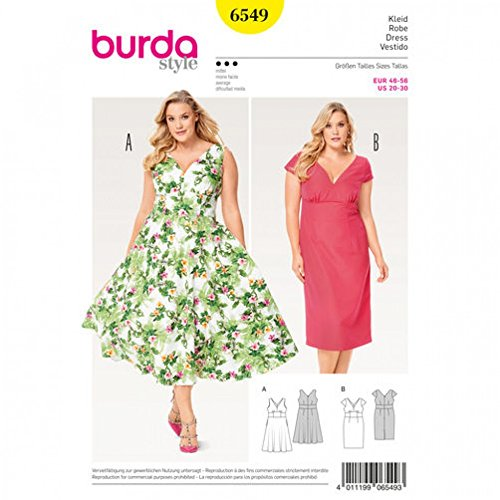 burda dress sewing patterns - 4