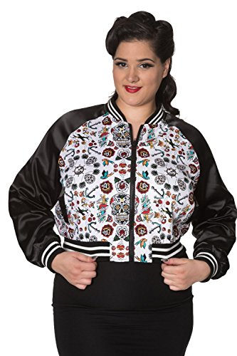 Mujer Banned Chaqueta Chaqueta Banned Banned Para Mujer Para Para Chaqueta qCSCfPxwI