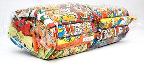 Assorted Japanese Junk Food Snack ''Umaibo'' 50 Packs of 11 Types Umaibo