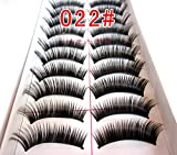 Luxfy(TM) 10 Pairs Natural Thick Volume Styles Makeup Long False Eye Lash Eyelashes Black