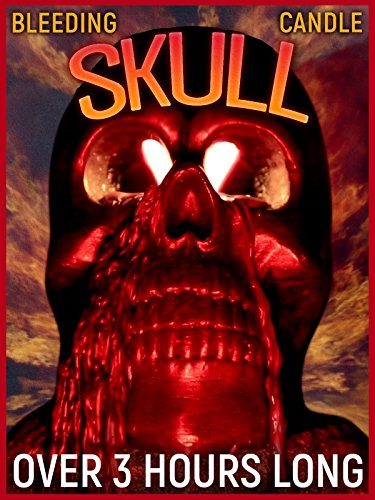 Skull Bleeding Candle - Halloween Scary Horror with Eerie Sounds