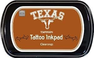 Clearsnap® tatuaje tinta Universidad de Texas, Austin, color naranja