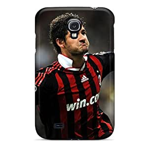 Sanp On Case Cover Protector For Galaxy S4 (soccer Ac Milan Alexandre Pato)