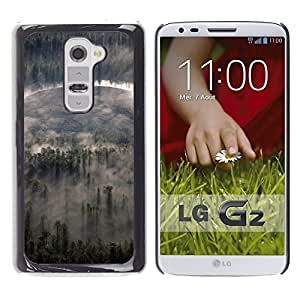Exotic-Star ( Nature Forrest Clouds ) Fundas Cover Cubre Hard Case Cover para LG G2 / D800 / D802 / D802TA / D803 / VS980 / LS980