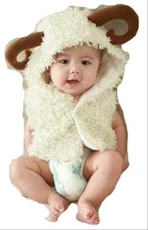a5f982ed5dc4a ベビー 服 コスプレ 赤ちゃん 羊 着ぐるみ 干支 2015 年賀状 写真 撮影