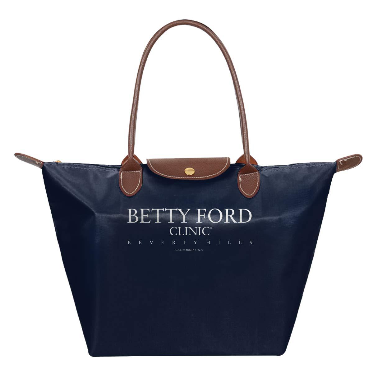 Betty Ford Clinic Waterproof Leather Folded Messenger Nylon Bag Travel Tote Hopping Folding School Handbags