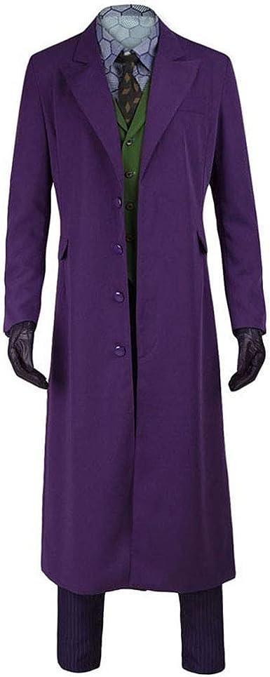 The Dark Knight Joker Suit Set
