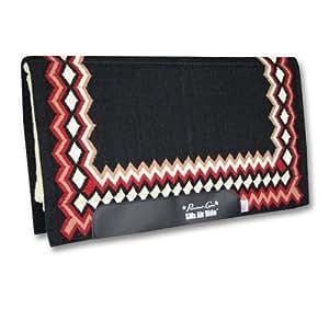 Professionals Choice 34X36 Equine Smx Air-Ride Shilloh Saddle Pad (Black/Crimson Red)