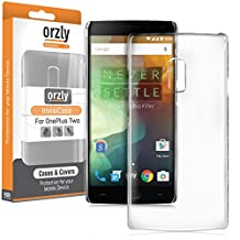 Orzly® - InvisiCase for OnePlus 2 SmartPhone (ONE PLUS TWO - 2015 Dual SIM Model) - 100% CLEAR Protective Phone Cover Shell - TRANSPARENT