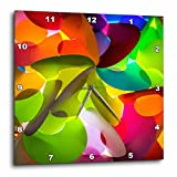 3dRose Danita Delimont - Abstracts - Thailand, Chiang Mai, Thai Market Place - 10x10 Wall Clock (dpp_276975_1)