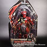 Masked BIG RED PREDATOR Special 7 inch Action Figure Collection New In Box