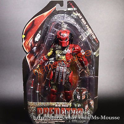 Masked BIG RED PREDATOR Special 7 inch Action Figure Collection New In (Disney Princess Movies List In Order)
