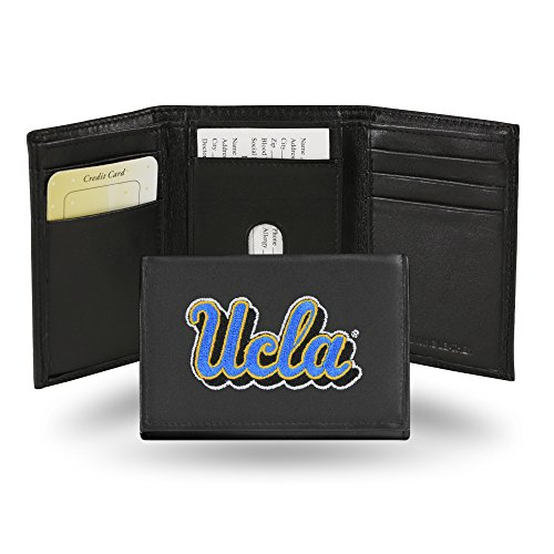 Rico Industries NCAA UCLA Bruins Embroidered Leather Trifold Wallet