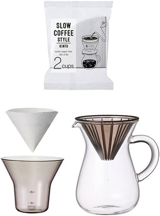 Juego de dos tazas jarra cafetera por Japón Kinto para