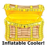 inflatable soda - Pirate Treasure Chest Inflatable Beer-Soda-Wine Drink Cooler Pool Party Measures 24