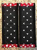 Refrigerator Door Handle Covers Set of Two Black