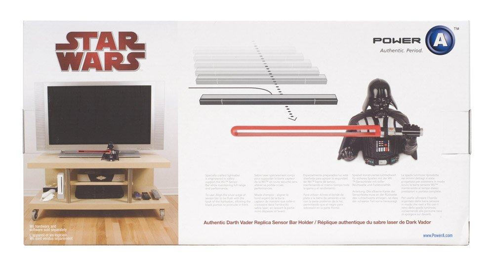Official Nintendo and Star Wars Wii Darth Vader Sensor Bar Holder by PowerA