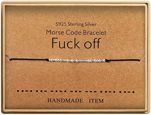 Morse Bracelet Sterling Silver Friendship product image