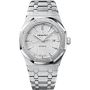 Audemars Piguet Royal Oak Silver Dial Stainless Steel Automatic Mens Watch 15400ST.OO.1220ST.02
