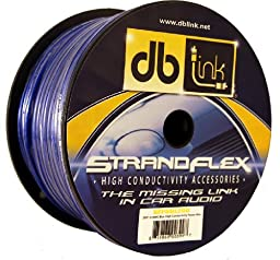 db Link SFP8BL250 StrandFlex Power Wire Spools (Blue)