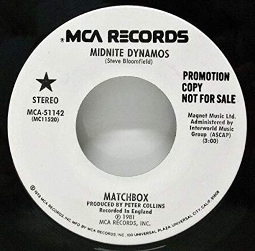 Midnite dynamos (1980) / Vinyl single [Vinyl-Single 7''] ()