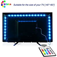 LED TV Backlight, Maylit 2M/6.56ft RGB Neon Accent LED...