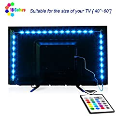 Item Model: 24key remote Control LED TV Backlight Kit Environmental Friendly  LED TV backlight with high quality & long lifespan: SMD5050 chips,50000 hours long lifespan. Neon Accent LED Lights Strips use less than 5% energy of a s...