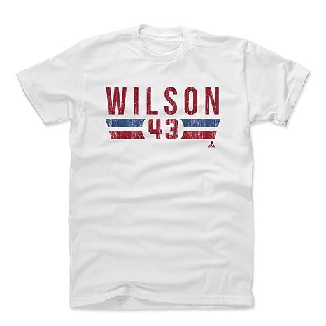 c1a77f6ed 500 LEVEL Tom Wilson Cotton Shirt (XXX-Large, White) - Washington Capitals