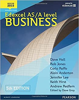 Edexcel As A Level Business 5th Edition Student Book And Activebook
