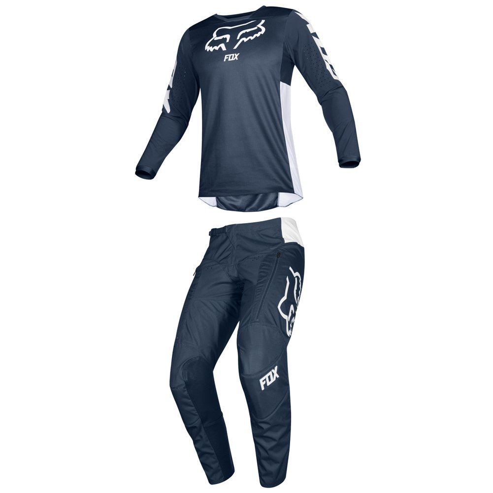 Fox Racing 2019 LEGION LT Jersey and Pants Combo Offroad Gear Adult Mens Navy XL Jersey/Pants 34W