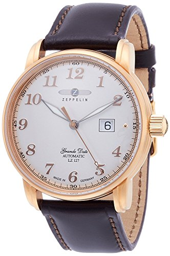 ZEPPELIN watch Graf Silver Dial Automatic 76,525 Men's parallel import goods]