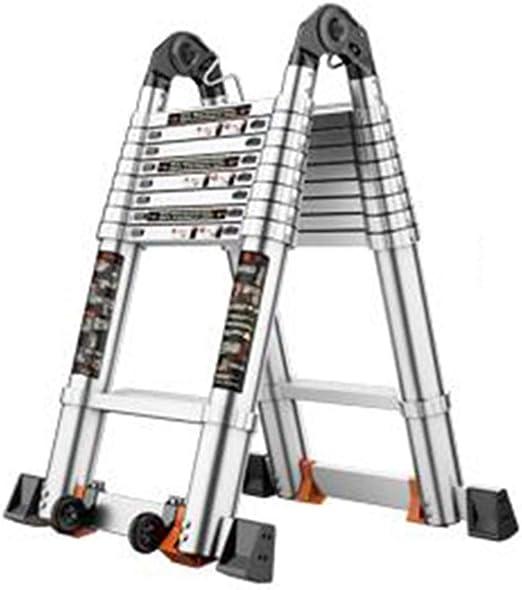 Escalera extensible/ Escalera telescópica Escalera de extensión ...