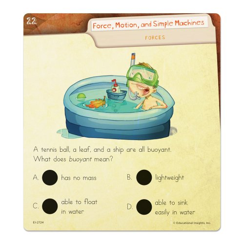 Educational Insights Hot Dots Science Set Force & Motion Photo #2