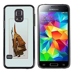 iKiki Tech / Estuche rígido - Asistente Viejo - Samsung Galaxy S5 Mini, SM-G800