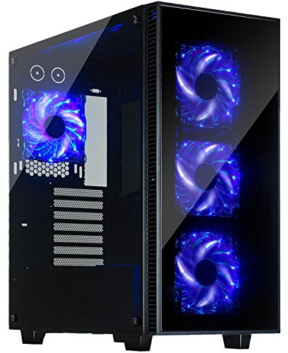 Rosewill Computer Tempered Liquid cooling Pre installed
