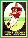 Jim Brown 1958 Topps Football Rookie Reprint Card (Browns)