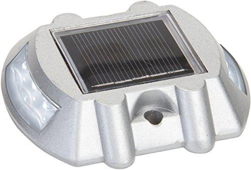 - Reusable Revolution Solar LED Road Stud Pathway Marker Light (White)