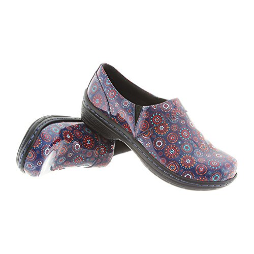 Mission Mandella Closed KLOGS Footwear Patent Clog Women's Nursing Back xwq4CSqv
