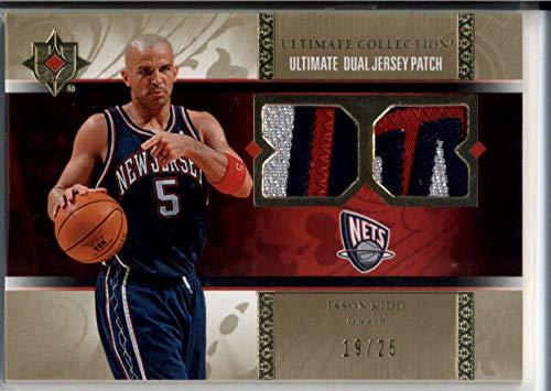 Jason Kidd Jersey Patch Ultimate Dual /25 Nets 2006-07 UD Upper Deck Nets Suns
