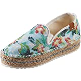 Women's Judith Printed Espadrille Canvas Slip On Shoes