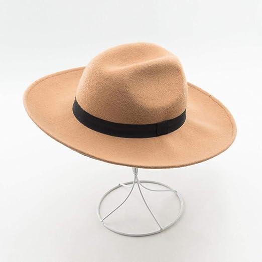 TtKj-051 Fieltro de Las Lanas de Las señoras Sombrero Europeo y ...