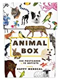 Animal Box: 100 Postcards by 10 Artists (Card Book)