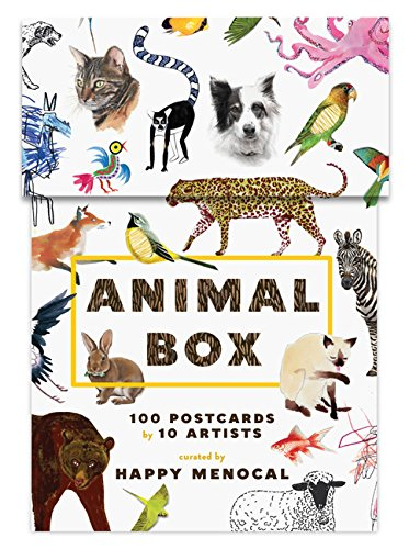 Animal Box: 100 Postcards by 10 Artists JungleDealsBlog.com