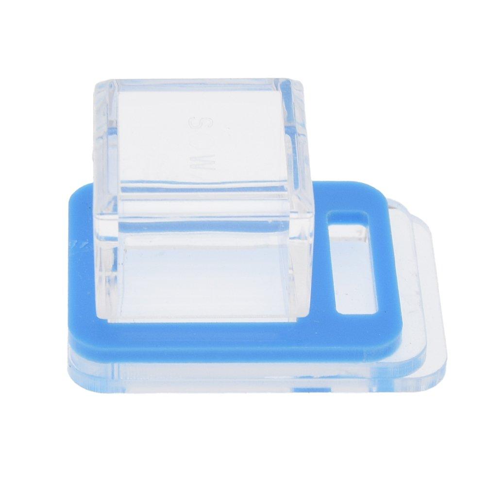 Kesheng Abreuvoir en Acrylique Watering Place Fourmis Accessoire (Bleu)