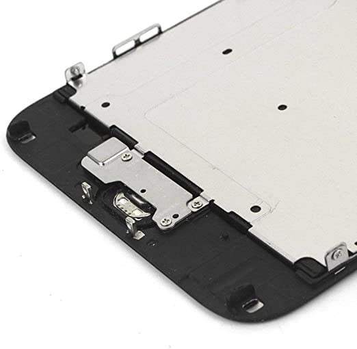 LL Trader Negro Pantalla Táctil para iPhone 6 Plus LCD Touch Screen Digitizer Partes de Repuesto con Herramientas (Home Botón, Cámara, Sensor Flex): Amazon.es: Electrónica