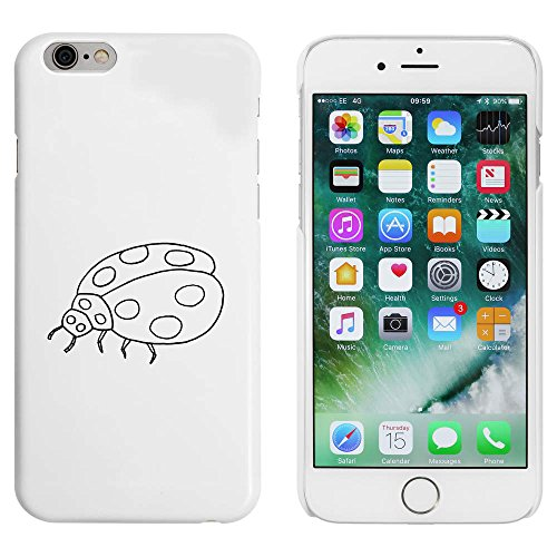 Blanc 'Coccinelle' étui / housse pour iPhone 6 & 6s (MC00036806)